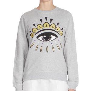 Kenzo Eye Graphic Sweatshirt Size Small Authentic